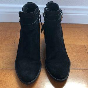 Sam Edelman block heel booties size 7